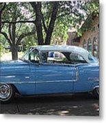 1956 Classic Cadillac Left View Metal Print