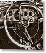 1956 Desoto Dash Metal Print
