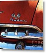 1956 Dodge 500 Series Photo 2b Metal Print by Anna Villarreal Garbis