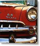 1956 Dodge 500 Series Photo 5b Metal Print by Anna Villarreal Garbis