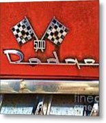 1956 Dodge 500 Series Photo 8b Metal Print by Anna Villarreal Garbis