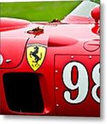 1956 Ferrari 410 Sport Scaglietti Spyder Metal Print