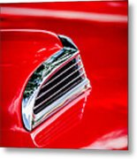1956 Ford Thunderbird Hood Scoop -287c Metal Print