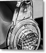 1956 Ford Thunderbird Taillight -247bw Metal Print