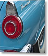 1956 Ford Thunderbird Taillight And Emblem Metal Print
