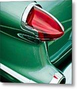 1956 Oldsmobile 98 Taillight Metal Print