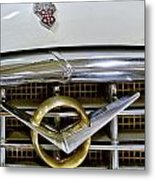 1956 Packard Caribbean Headlight Grill Metal Print