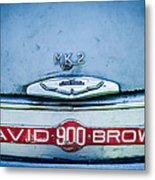 1957 Aston Martin Db2-4 Mark IIi Emblem Metal Print