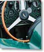 1957 Aston Martin Dbr2 Steering Wheel Metal Print