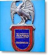 1957 Aston Martin Mk IIi Prototype - Tickford Coachwork Emblem Metal Print