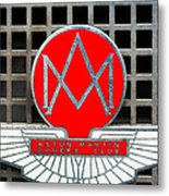 1957 Aston Martin Owner's Club Emblem Metal Print