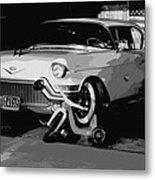 1957 Cadillac Metal Print