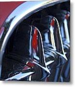 1957 Chevrolet Corvette Grille Metal Print