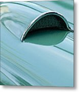 1957 Chevrolet Corvette Scoop 2 Metal Print