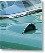 1957 Chevrolet Corvette Scoop Metal Print