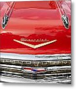 1957 Chevy Front End Metal Print