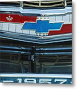 1957 Chevy Front Metal Print