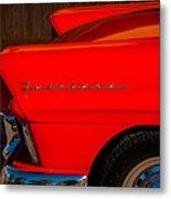 1957 Ford Fairlane Emblem -359c Metal Print
