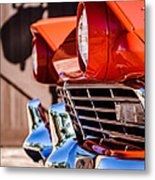 1957 Ford Fairlane Grille -205c Metal Print