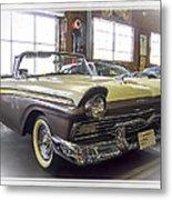 1957 Ford Fairlane Metal Print by Steve Benefiel