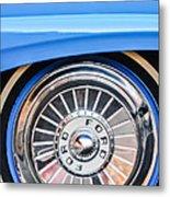 1957 Ford Fairlane Wheel Metal Print