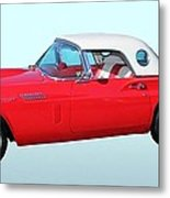 1957 Ford Thunderbird  Metal Print