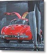 1957 Mercedes Benz 300 Sl Gullwing Coupe Metal Print