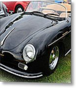 1957 Porsche Speedster 1600 Super Metal Print
