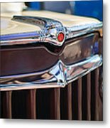 1957 Willys Wagon Grille Metal Print