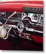 1958 Buick Special Dashboard Metal Print