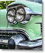 1958 Cadillac Headlights Metal Print