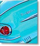 1958 Chevrolet Belair Taillight 2 Metal Print