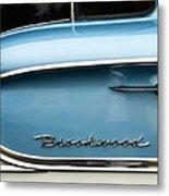 1958 Chevrolet Brookwood Station Wagon Metal Print