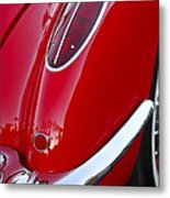 1958 Chevrolet Corvette Taillight Metal Print