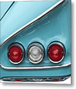 1958 Chevrolet Impala Taillights  Metal Print