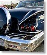1958 Chevy Impala Rear Quater Metal Print