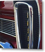 1958 Edsel Pacer Grille 2 Metal Print