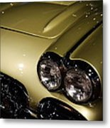 1958 Fancy Free Corvette J58s Metal Print