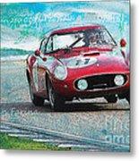 1958 Ferrari 250 Gt Tour De France Metal Print