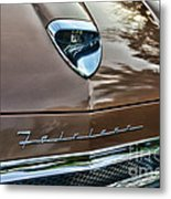 1958 Ford Fairlane 500 Skyliner Metal Print