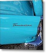1958 Ford Thunderbird Detail Metal Print
