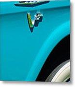 1958 Gmc Series 101-s Pickup Truck Side Emblem Metal Print