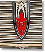 1958 Oldsmobile Super 88 4 Door Sedan -1654c Metal Print