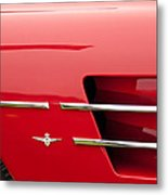 1958 Pegaso Z-103 Touring Berlinetta Side Emblem -1195c Metal Print