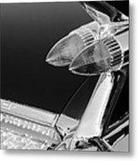 1959 Cadillac Eldorado Taillight -075bw Metal Print