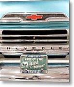 1959 Chevrolet Apache 012315 Metal Print