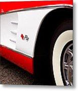 1959 Chevrolet Corvette Metal Print by David Patterson