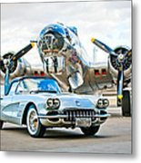1959 Chevrolet Corvette Metal Print