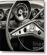 1959 Chevrolet Dash Metal Print