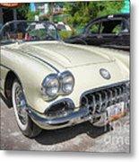 1959 Corvette Metal Print